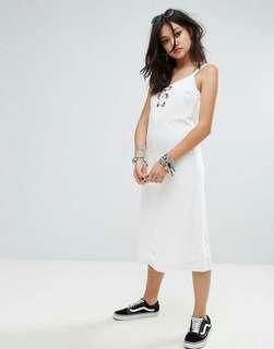 ASOS Glamorous Midi Cami Dress With Eyelet Detail