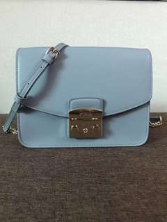 Furla Small Metropolis Crossbody - blue