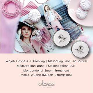 Obsess Cosmetics DD Cushion Foundation