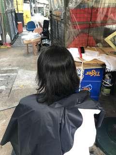 Fades. Haircut.