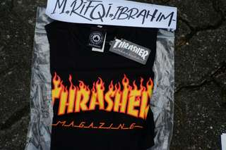 Tees Thrasher Flame Black ,Size S BNWT
