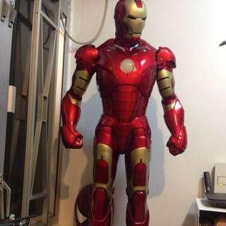 Ironman 39寸連地擡 心口和眼可以有燈 來自台灣師夫製造 訂回來$12000