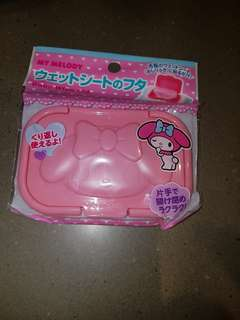 My Melody Baby Wipe Lid