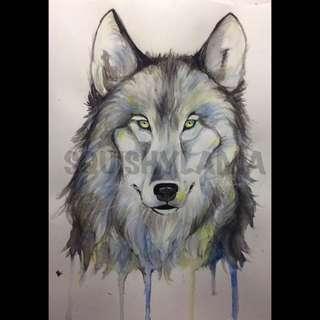 Animal art commissions