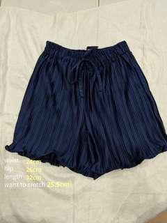 Silk like shorts