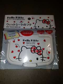 Hello Kitty One Touch Wipe Lid