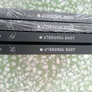 WTS UNSEALED BTS LOVE YOURSELF TEAR