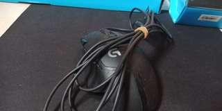 Logitech hyperfurion+mousepad G240
