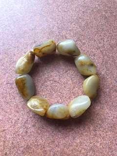 新疆和田籽料 bracelet raw beads