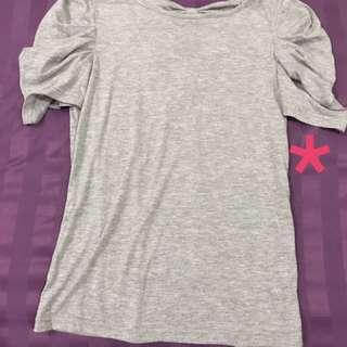 Ribbon back blouse