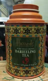 Harrods tea container
