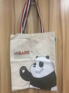We Bare Bears Ecobag