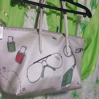 reprice Lacoste bag authentic
