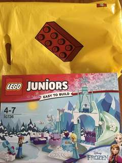LEGO Juniors Anna and Elsa's Frozen Playground - 10736