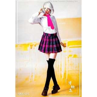 PRE-ORDER : Man Model MM10-C / B / A - 1/6 Girl's School Dress Suit C / B / A