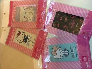 日本限定hello kitty d2卡 單張$350