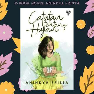EBOOK PDF NOVEL CATATAN TENTANG HUJAN