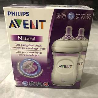 Philips Avent Natural Bottle 2 X 260ml
