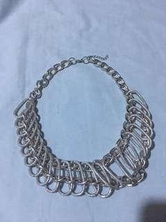 (brandnew) silver necklace