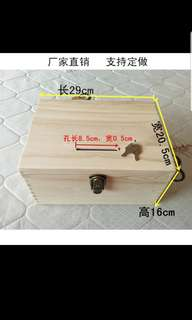 Wedding Ang Pow AngBao Wooden Box