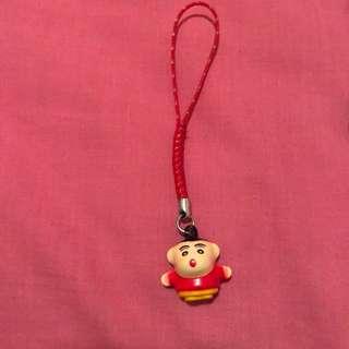 Shin-Chan bell phone strap / key ring