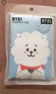 RJ BT21 passport case