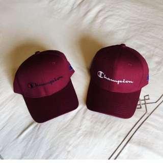Champion Maroon Cap