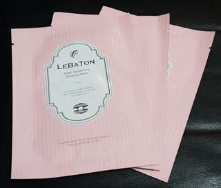 Lebaton Pearl Whitening Essence Mask