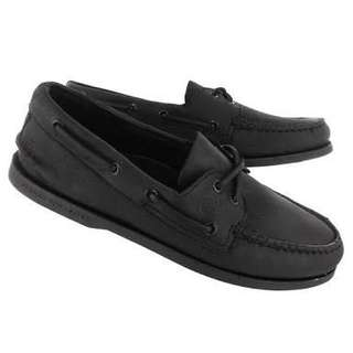Sperry top sider black 40
