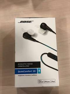 Bose Noise Cancelling QC20