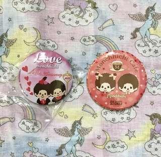 Monchhichi monchichi 襟章 pins