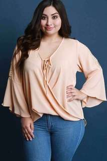 #035 Plus size blouse (3 colors)