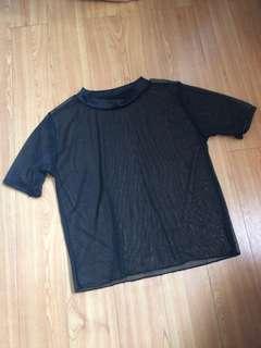 ⚫️ Black Transparent Shirt ⚫️
