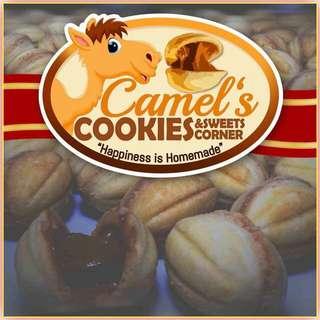 Camel's eye cookies