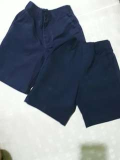 Blue school shorts bundle of 2