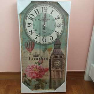 London Clock (Brand New)