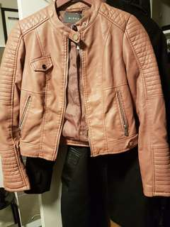 Leather jacket from mirrou