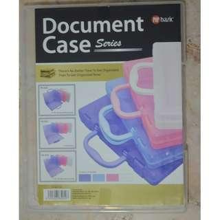 PLASTIC DOCUMENT CASE