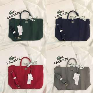 Lacoste Tote With Strap