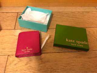 Kate Spade Dark Pink Small Wallet 深粉紅色 銀包 (100% Authentic 真)