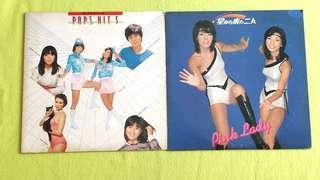 PINK LADY ● HIROMI IWASAKI ~ ANN LEWIS ~ PINK LADY ~ JUNKO SAKURADA ~ MAKO ISHINO . woman with a thousand faces / mako ll pop hits 5. ( buy 1 get 1 free )  vinyl record