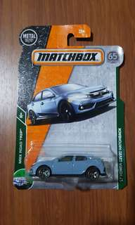 '17 Honda Civic Hatchback Matchbox