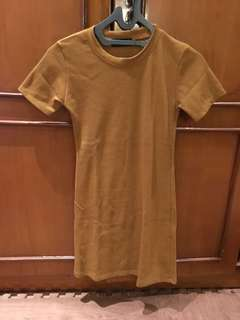 dress coklat mocca all size S