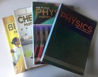 O-Level Biology/Chemistry/Physics Textbook