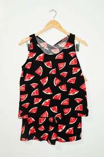 Ladies' Terno (Black Watermelon)