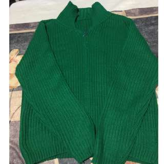 Green Cardigan from baguio