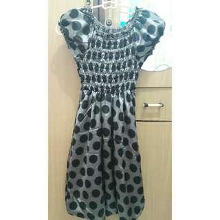 Dress motif buble