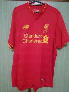 Liverpool Jersey 16/17 Home Kit