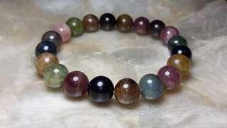 Multicolor Tourmaline Bracelet