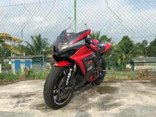 2008 GSXR 1000 K8